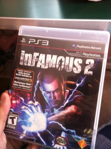 infamous 2 leaked - InFAMOUS 2: Kopien im Umlauf?