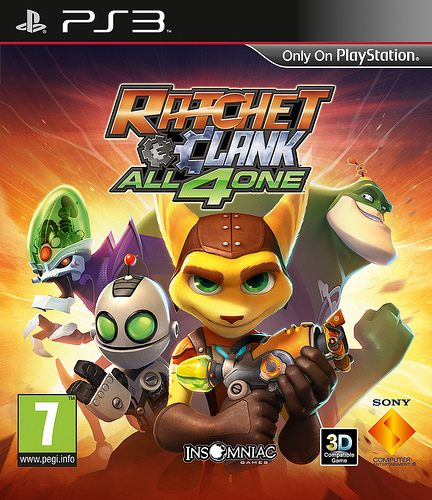 ratchet and clank all 4 one cover - Ratchet and Clank All 4 One: Cover, Releasetermin und Vorbesteller Bonus