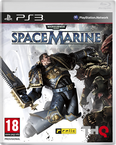 warhammer 40k spacemarine packshot - Warhammer 40k: Packshot aufgetaucht