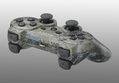 ps3 urban camouflage controller - PS3 Controller: Urban Camouflage Modell ab November