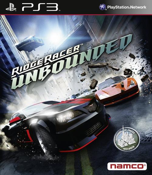 ridge racer unbounded packshot - Ridge Racer Unbounded: Limited Edition angekündigt und Packshot