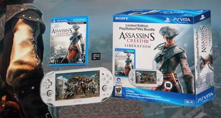 assassins creed 3 liberation ps vita weiss bundle - Assassins Creed 3 Liberation: Weitere Details + PS Vita weiß Bundle