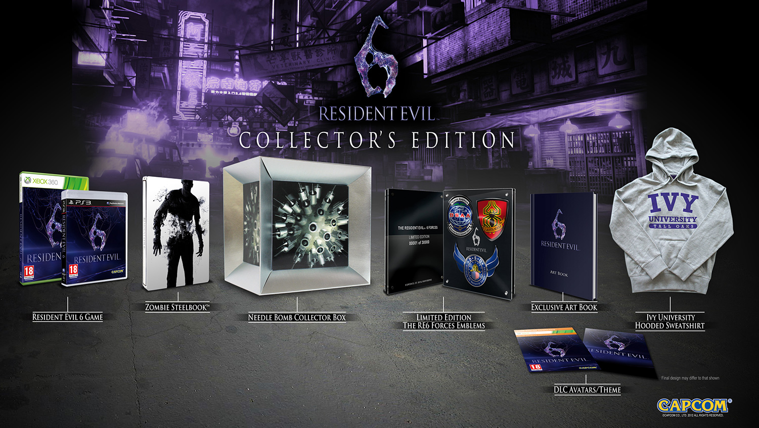 resident evil 6 collectors edition - Resident Evil 6: Collectors Edition enthüllt