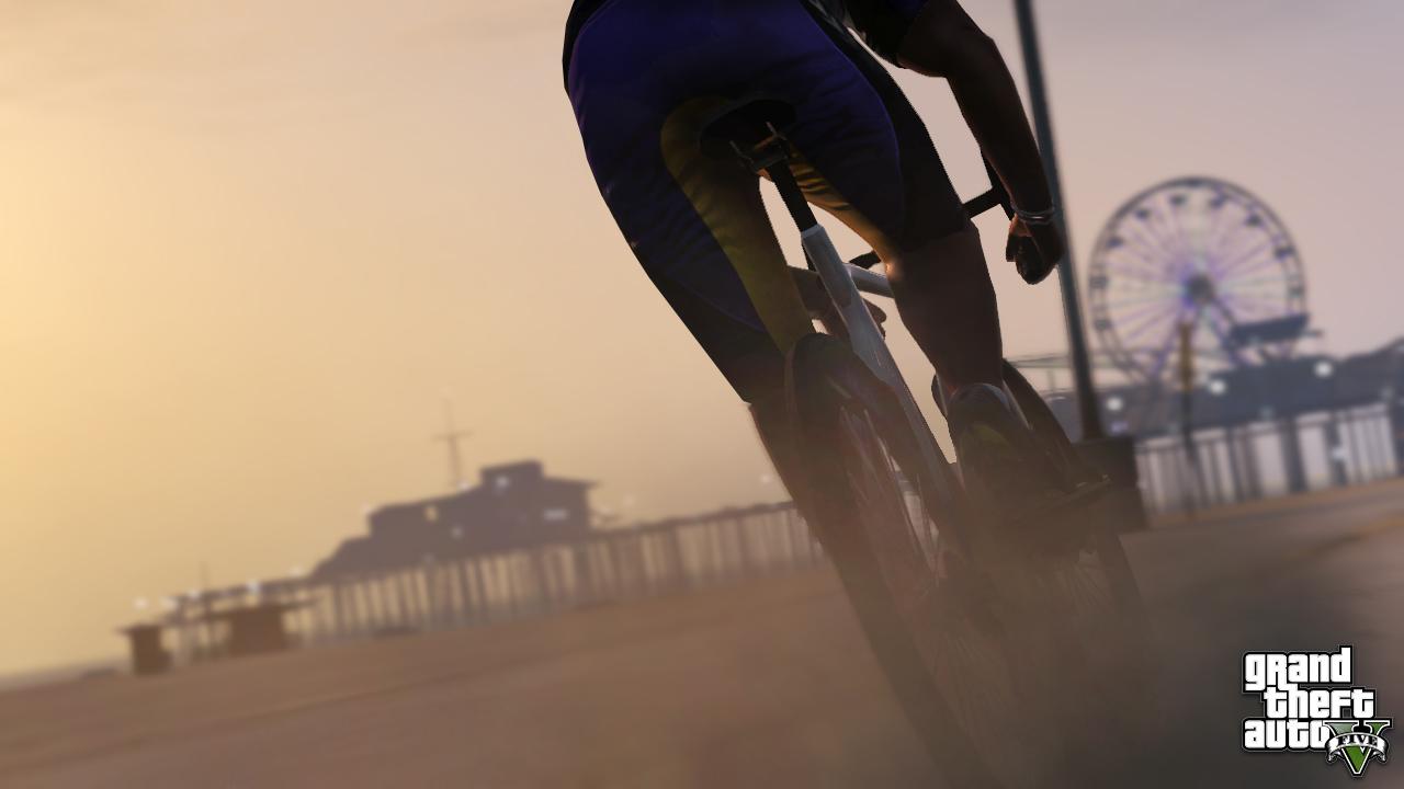 GTA V Fahrrad1 - GTA V: 3 neue Screenshots und bald folgende Infos
