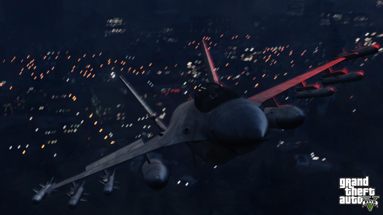 GTA V Jet1 - GTA V: 3 neue Screenshots und bald folgende Infos
