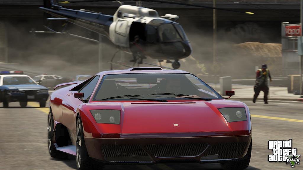 GTA V Screen8 - GTA V: 4 weitere Screenshots veröffentlicht