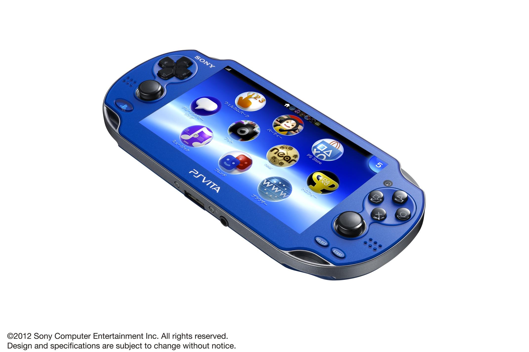 PS Vita Sapphire Blue screen1 - Playstation Vita: Zwei neue Farbvarianten für Japan