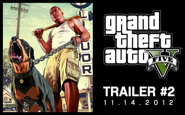 GTA V Trailer 2 Artwork - GTA V: 2. Trailer erscheint nächste Woche