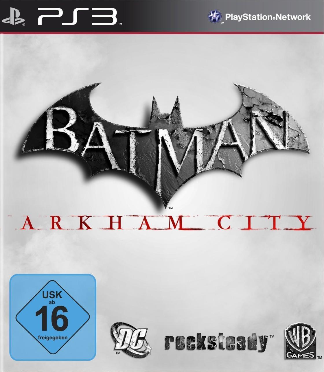 batman arkham city packshot - Batman Arkham City: EU Cover aufgetaucht