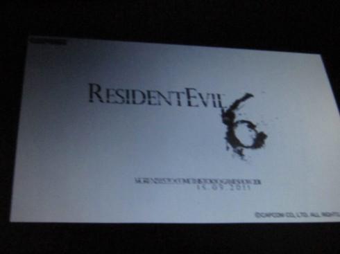 resident evil 6 comiccon - Resident Evil 6: Enthüllung am 15. September auf der TGS?
