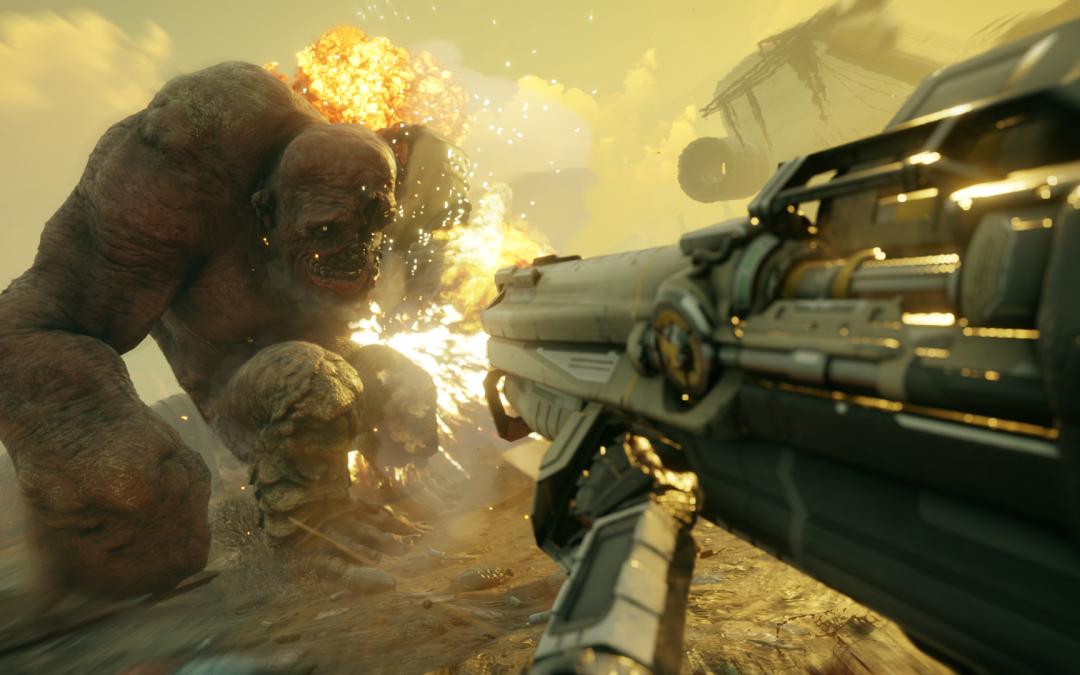 Erste Einblicke in das Spiel Rage 2, welches bald für PS4 erscheint