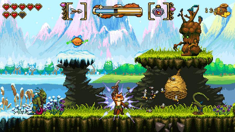 Retro-RPG-Plattformer Fox 'n' Forests in 16-Bit-Optik erscheint heute für PS4