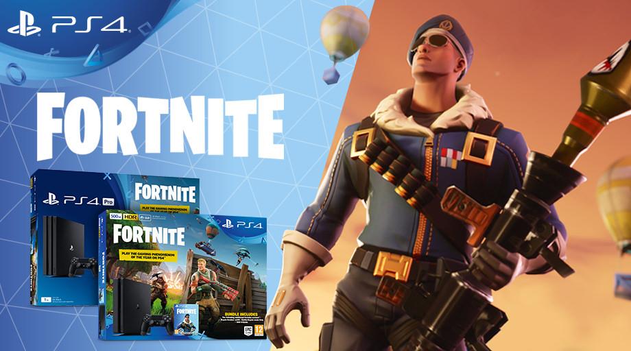 Schnappt euch das Fortnite Battle Royale-Paket und spielt das Gaming-Phänomen auf PlayStation 4