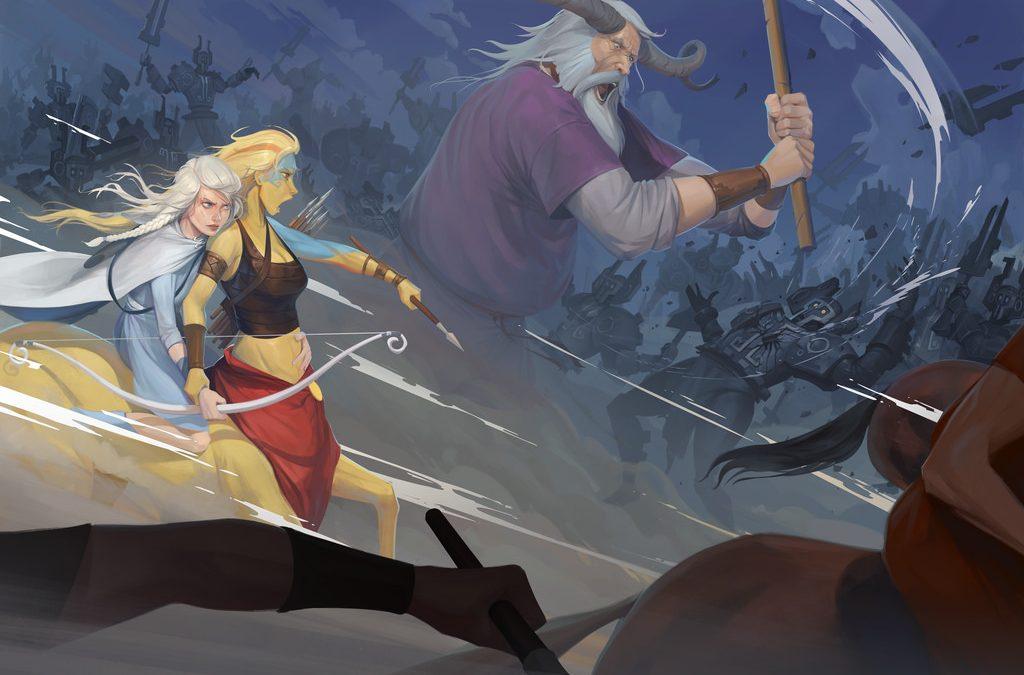 The Banner Saga 3: Wie das Wikingerepos von drei Entwicklern in einer Garage ins Leben gerufen wurde
