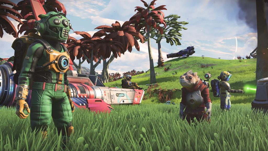 Wie der Multiplayer von No Man's Sky funktioniert: Hello Games zum heutigen NEXT-Update