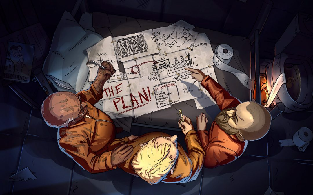 Der Escape Mode DLC von Prison Architect gräbt sich einen Weg auf PS4