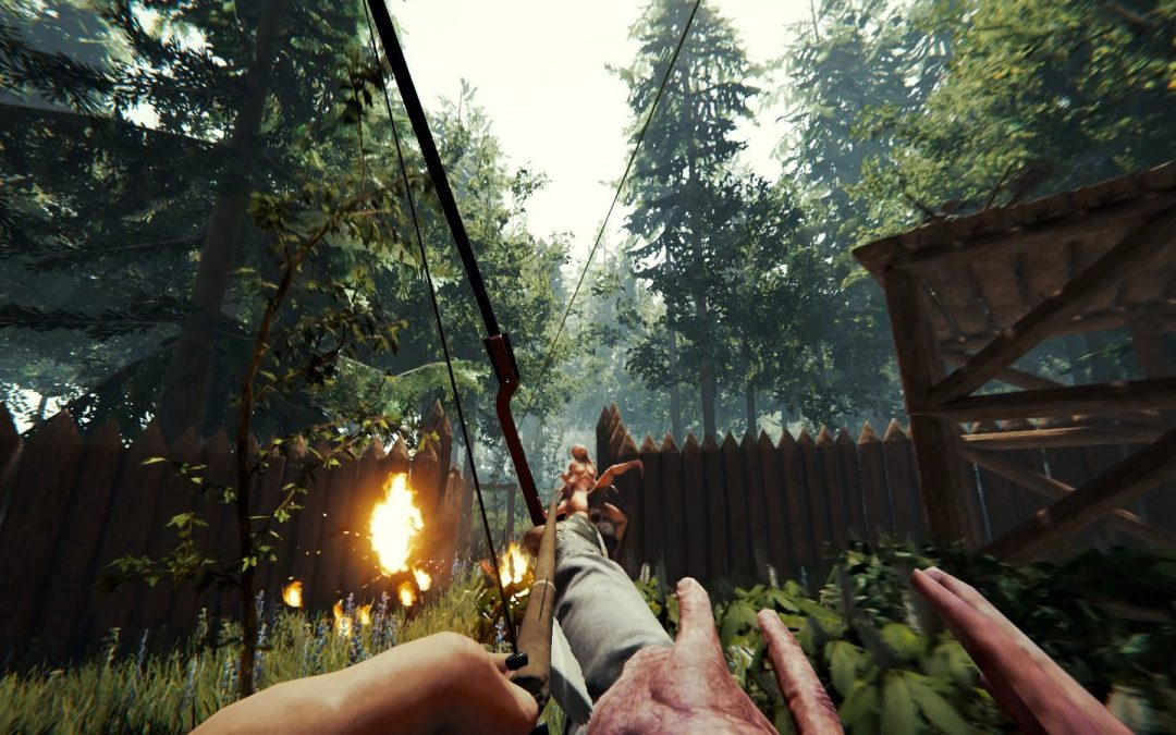 Das gefeierte Open-World-Survival-Spiel The Forest hat ein PS4-Releasedatum