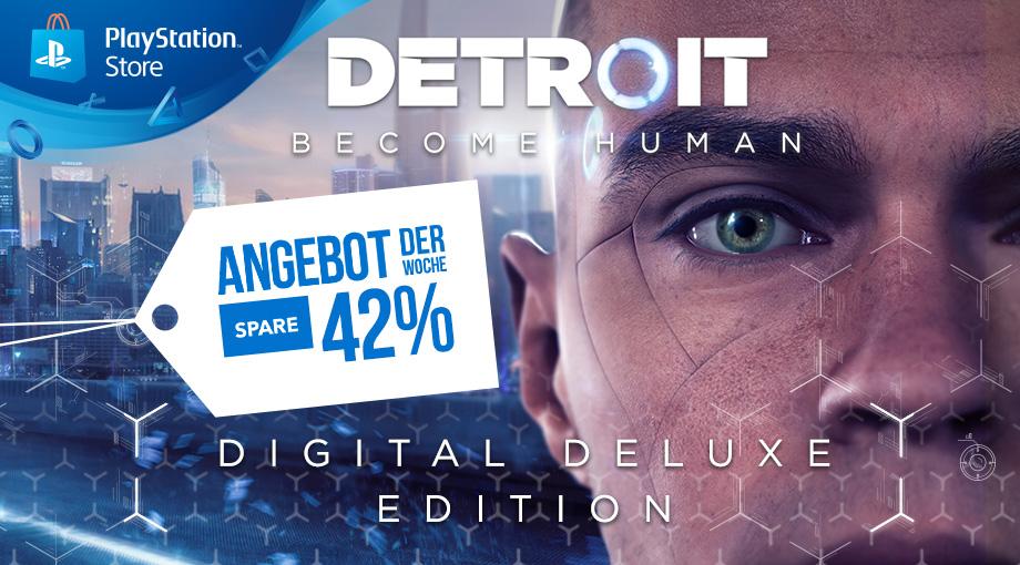 Drei Gründe, warum ihr euch Detroit: Become Human diese Woche aus dem PlayStation Store holen solltet