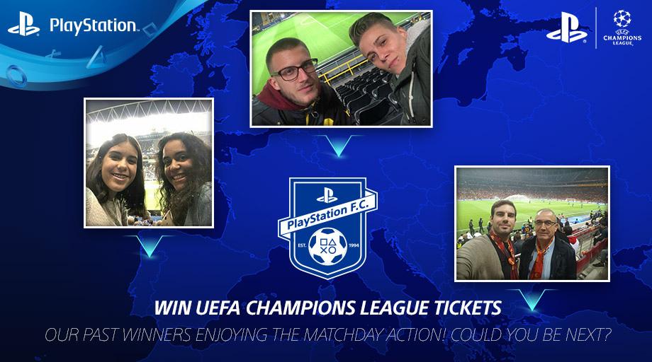 Es geht wieder rund! Der Kampf um Tickets für die UEFA Champions League entbrennt im PlayStation F.C. aufs Neue