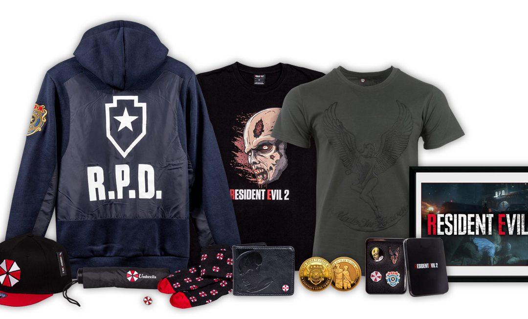 Neuer Resident Evil 2-Merchandise bei PlayStation Gear