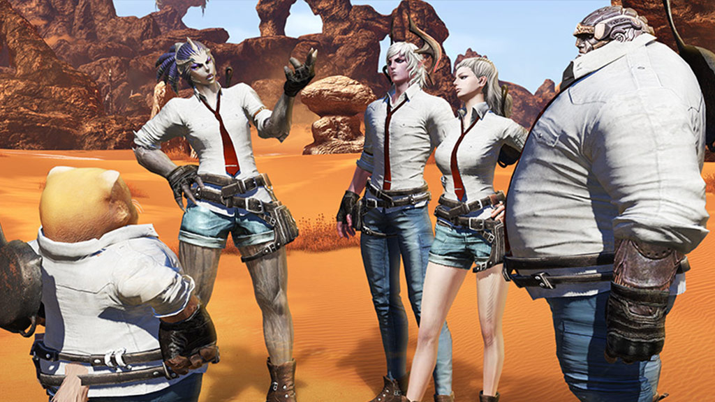 Get your first look at MMO Tera's PUBG-themed event ahead of next month's surprise crossover