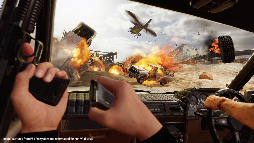 Blood & Truth erweckt Actionfilm-Momente in PSVR zum Leben