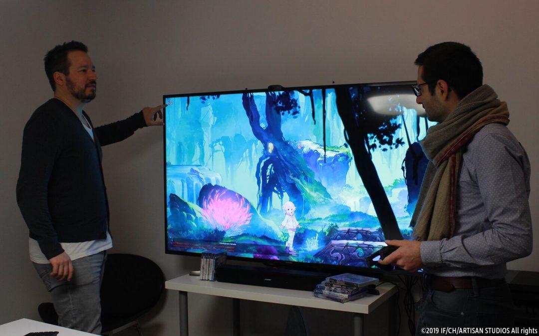 Die Entstehung der eindrucksvollen 2D-Kunst und -Animation von Super Neptunia RPG, das bald auf PS4 erscheint