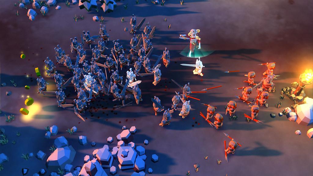 Im Nekromanten-Simulator Undead Horde könnt ihr die Toten wiederbeleben