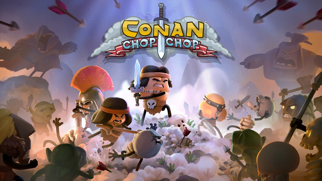 Conan Chop Chop ist echt, und es erscheint am 3. September auf PS4