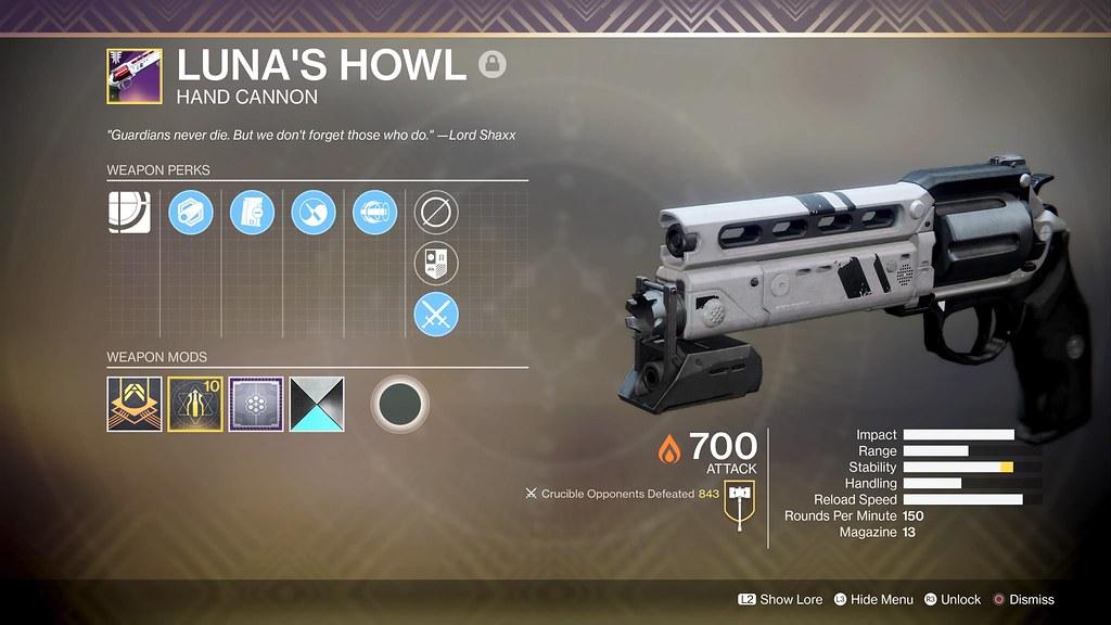 Luna's Geheul: Eine Ode an eine der herzzerreißendsten Überlieferungen in Destiny