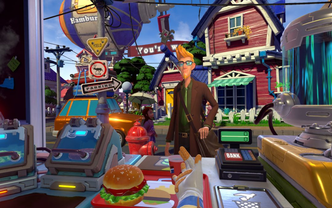 Wie schnell kannst du Fast Food servieren? Finde es heraus in der PS VR-Simulation I'm Hungry