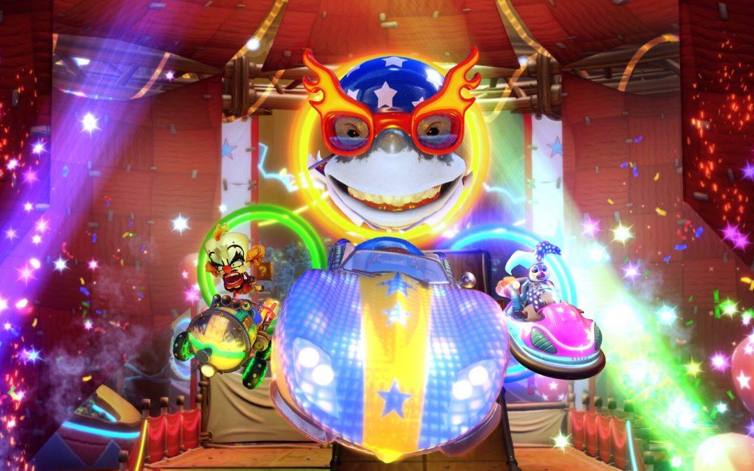 CTR Nitro-Fueled fügt den Neon Zirkus Grand Prix diesen Freitag hinzu