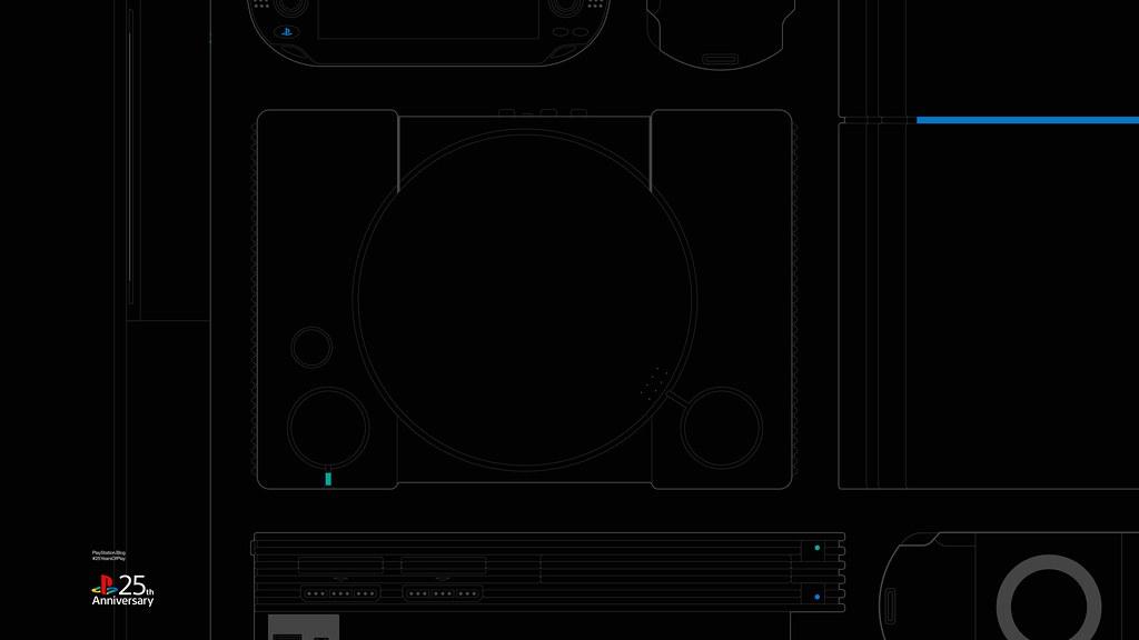 Feiert den 25. Geburtstag von PlayStation mit acht speziell angefertigten Hintergründen