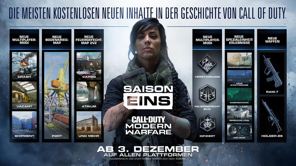Call of Duty: Modern Warfare Season 1 – Jetzt geht's richtig los!