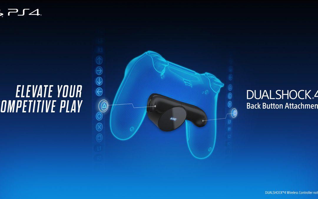 Wir stellen vor: Das Dualshock 4 Rücktasten-Ansatzstück kommt am 14. Februar