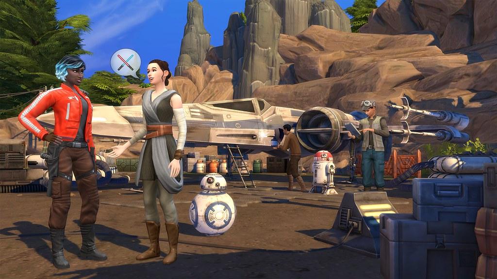 Lebt eure Star Wars-Träume in Die Sims 4 Star Wars: Reise nach Batuu